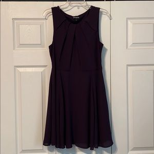 Express Plum Fully Lined Formal Dress - Size 12